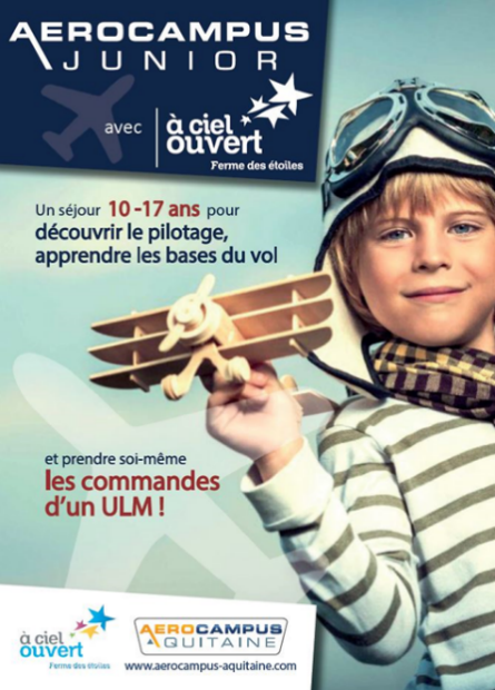 AEROCAMPUS Junior - affiche