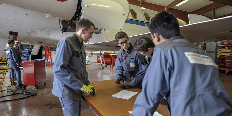 Campus formation formation maintenance a ronautique aerocampus aquitaine - Campus formation mondeville ...