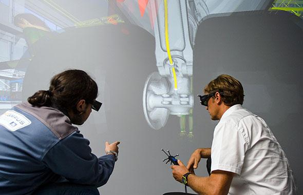 Réalité Virtuelle Aerocampus