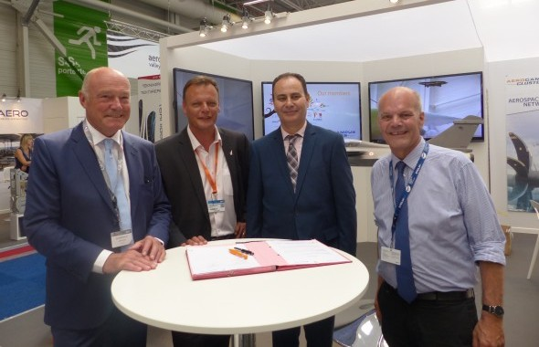 Paris Air Show : AEROCAMPUS Signs With Tunisair Technics