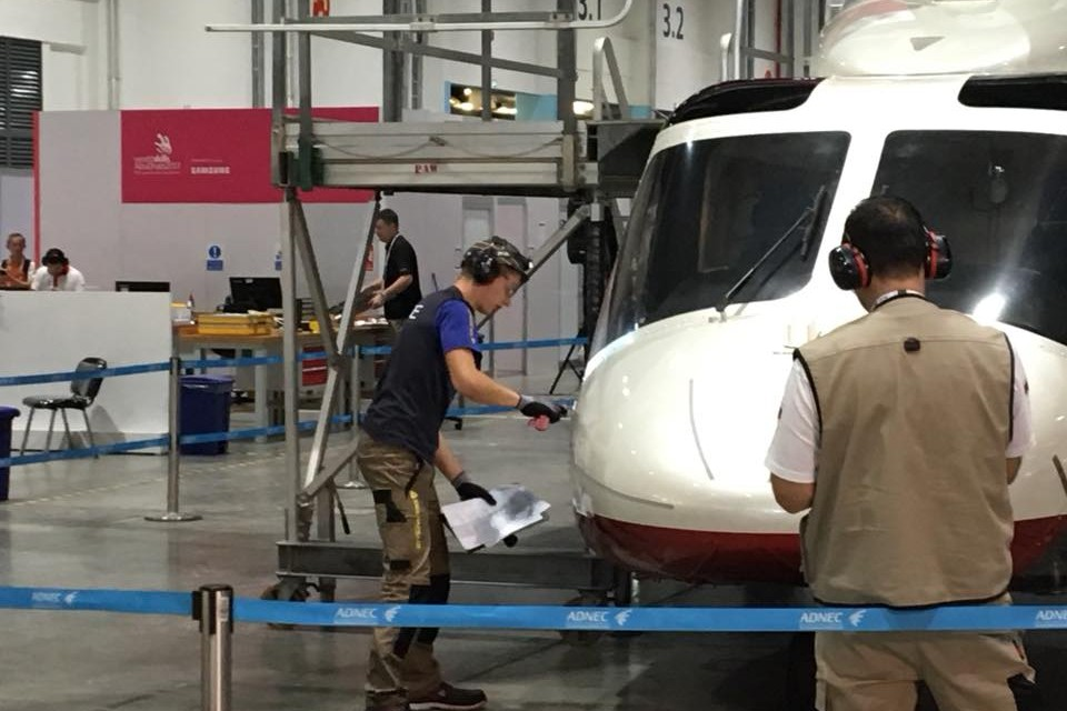 Worldskills 2017 – Tour Hélicoptère