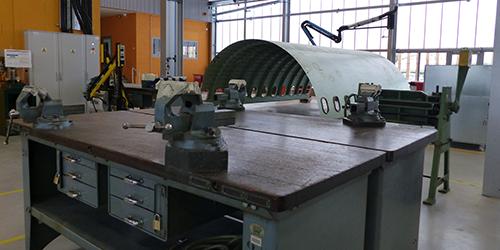 Atelier Bac Pro Aéronautique Structure