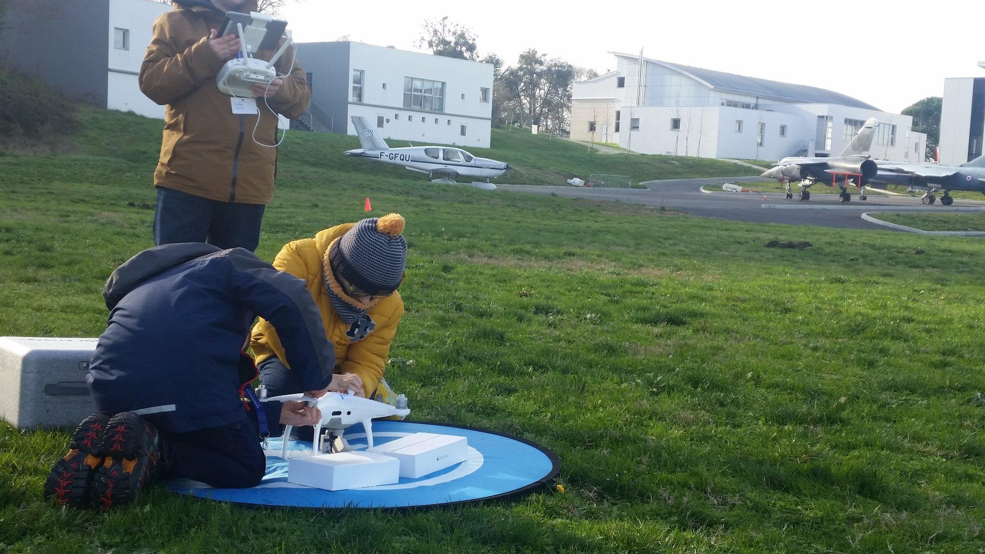 AEROCAMPUS JUNIOR – JOURNÉE DÉCOUVERTE Drones