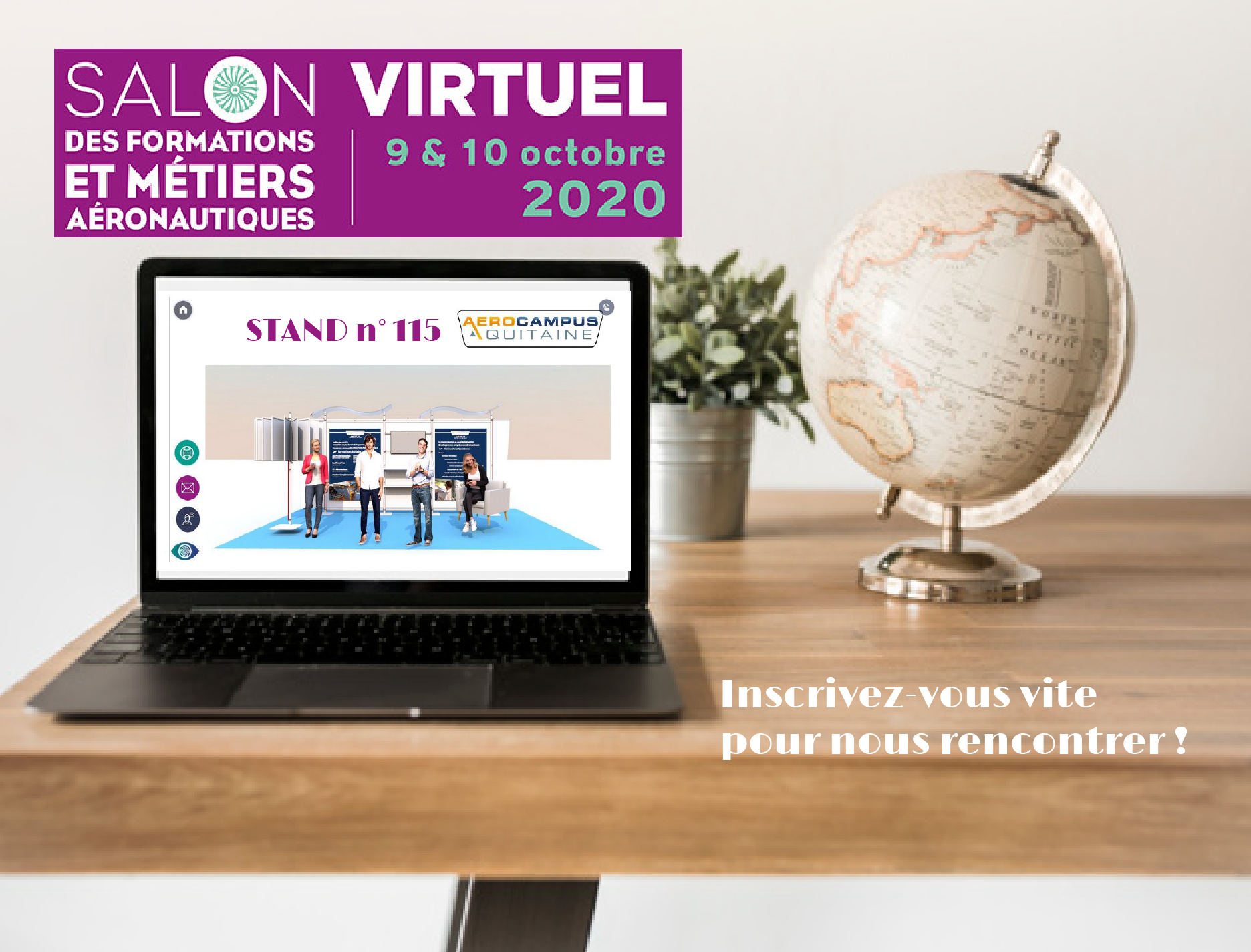 SALON VIRTUEL – 09 & 10 OCTOBRE 2020