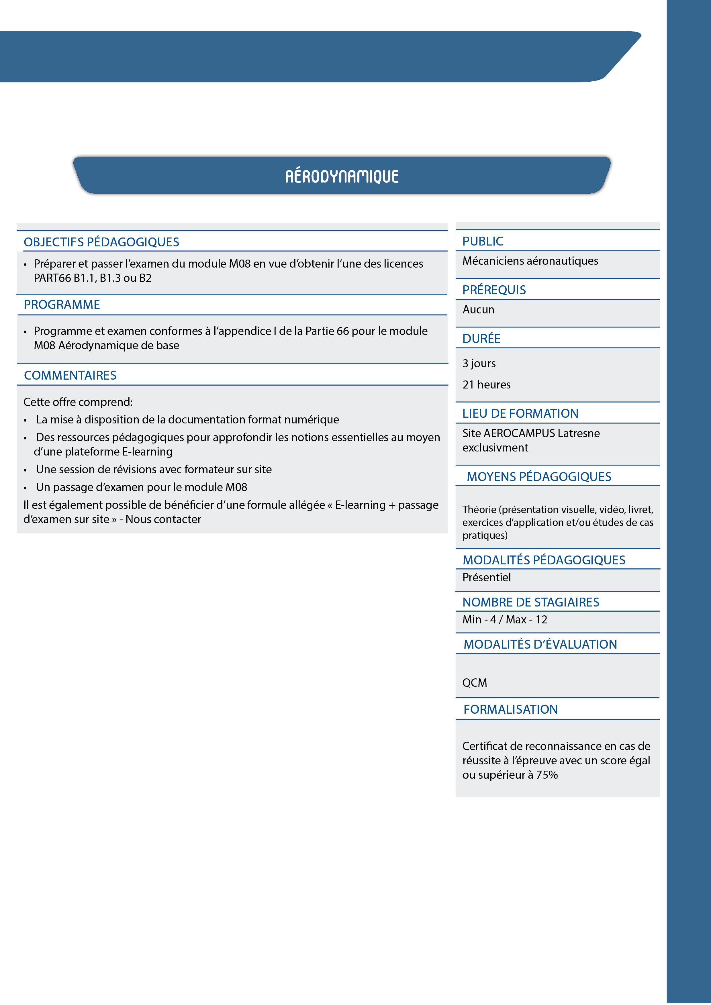 CATALOGUE FORMATIONS CONTINUES AEROCAMPUS_Ed2020_HD63