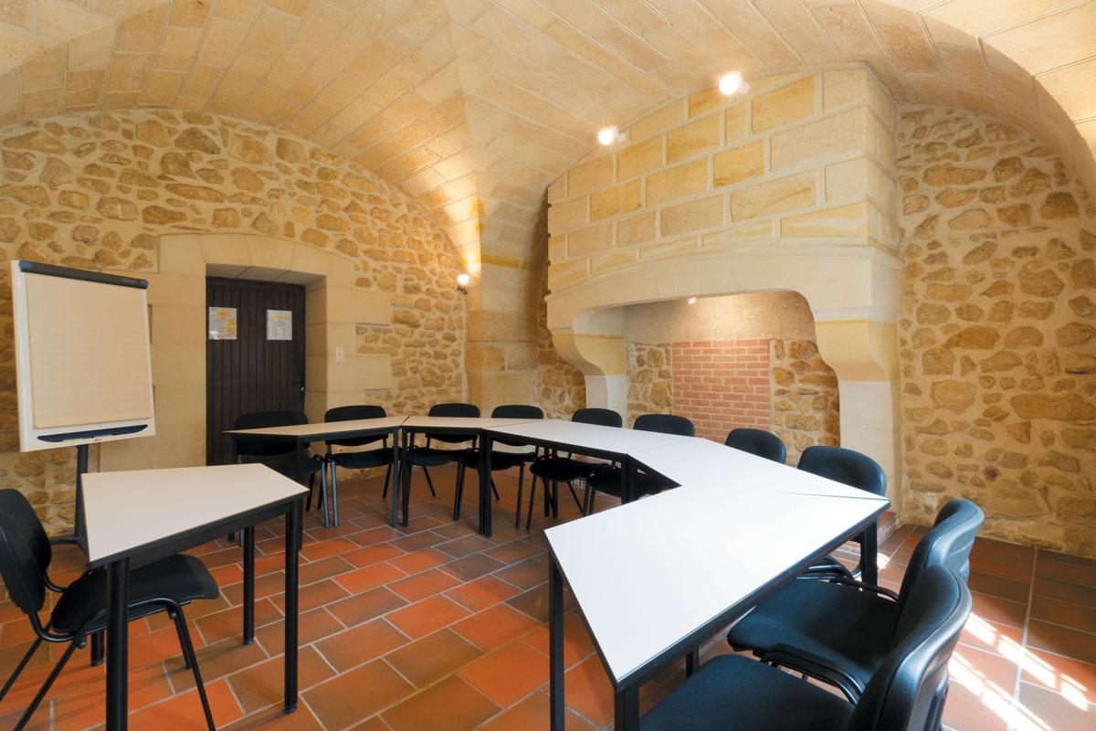 Séminaire Chateau Aerocampus | Salles