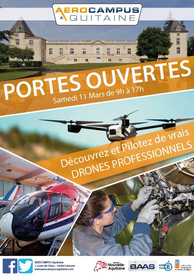 Journée PORTES OUVERTES – Drones