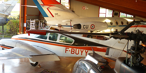 Hangar Avion Bac Pro Aéronautique Avionique