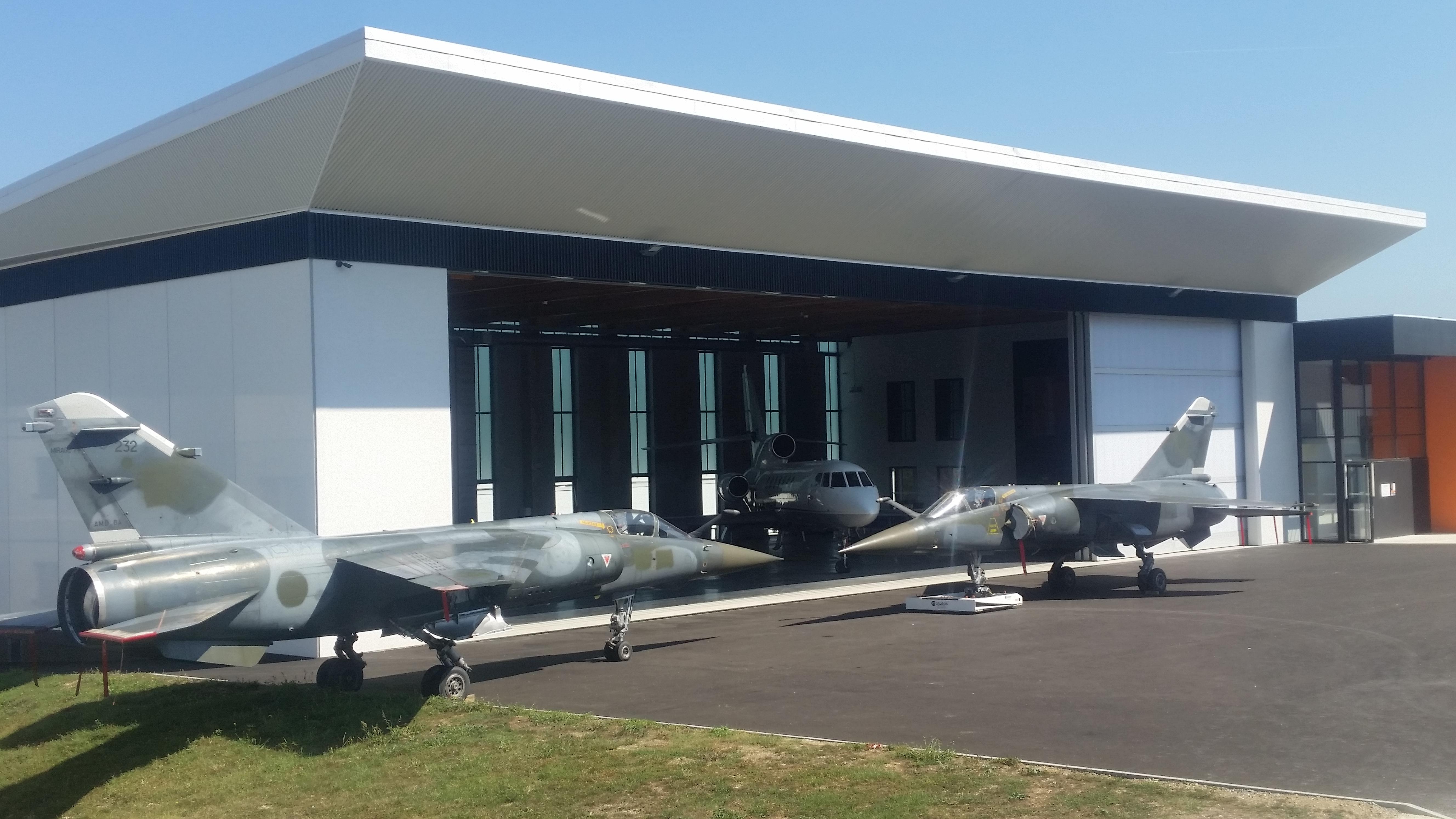 Mirage F1 & Falcon