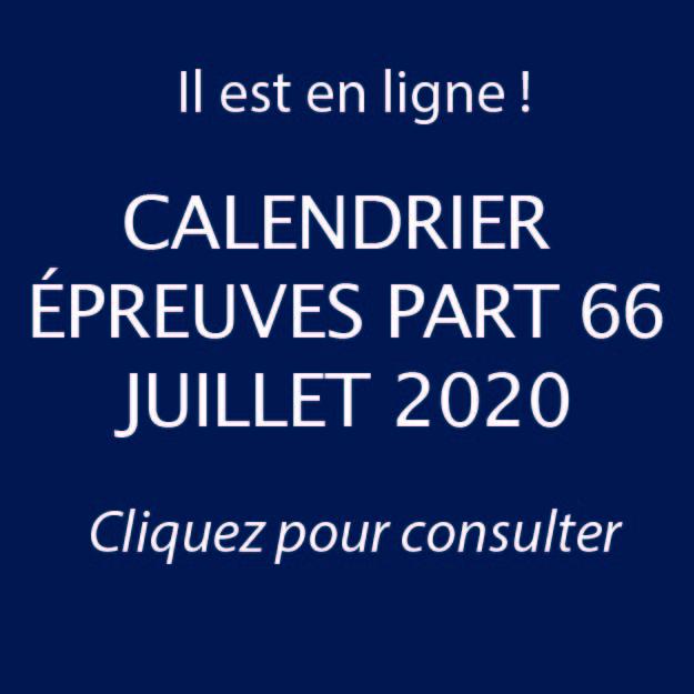 Calendrier Exams PART66 Juillet 2020