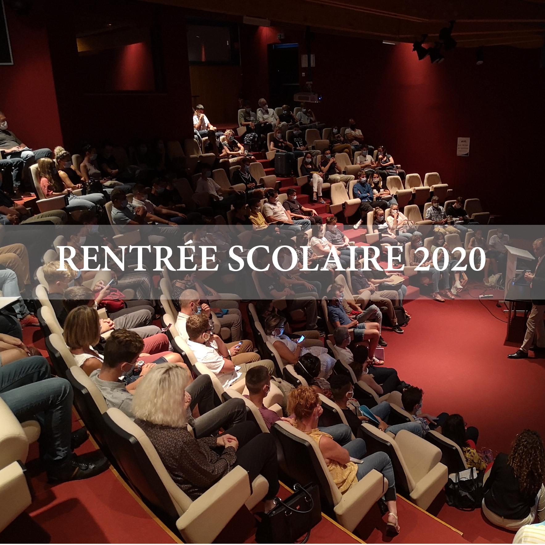 Rentrée Scolaire 2020-2021 !