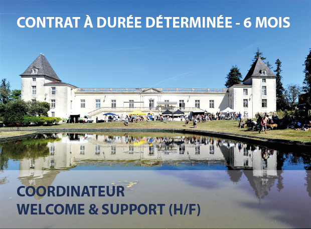 COORDINATEUR WELCOME & SUPPORT (H/F) – CDD 6 MOIS